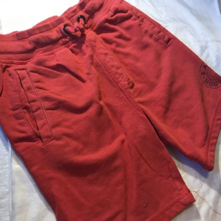 7-8 Year Red Jersey Shorts